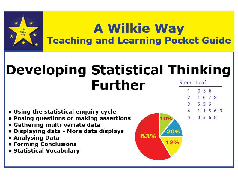 Wilkie Way  Teaching and Learning Pocket Guide to Further Developing Statistical Thinking