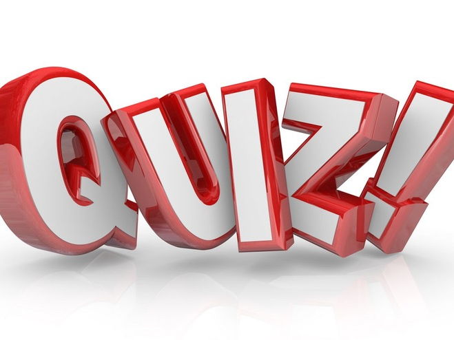 End of term Quiz EASTER 2017