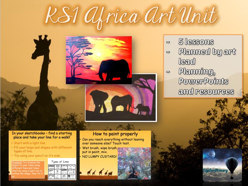 African Art Unit for KS1