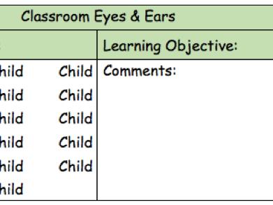 Eyes & Ears - Teaching Assistant Assessment
