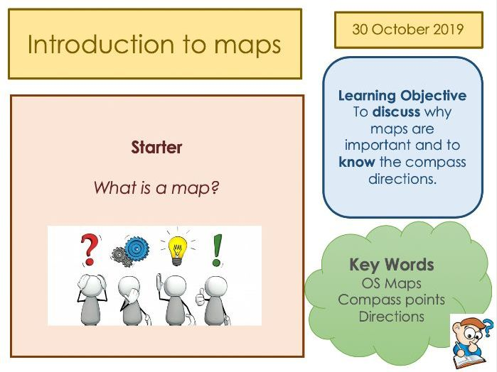 Map Skills  FULL unit of work - KS3 Geography