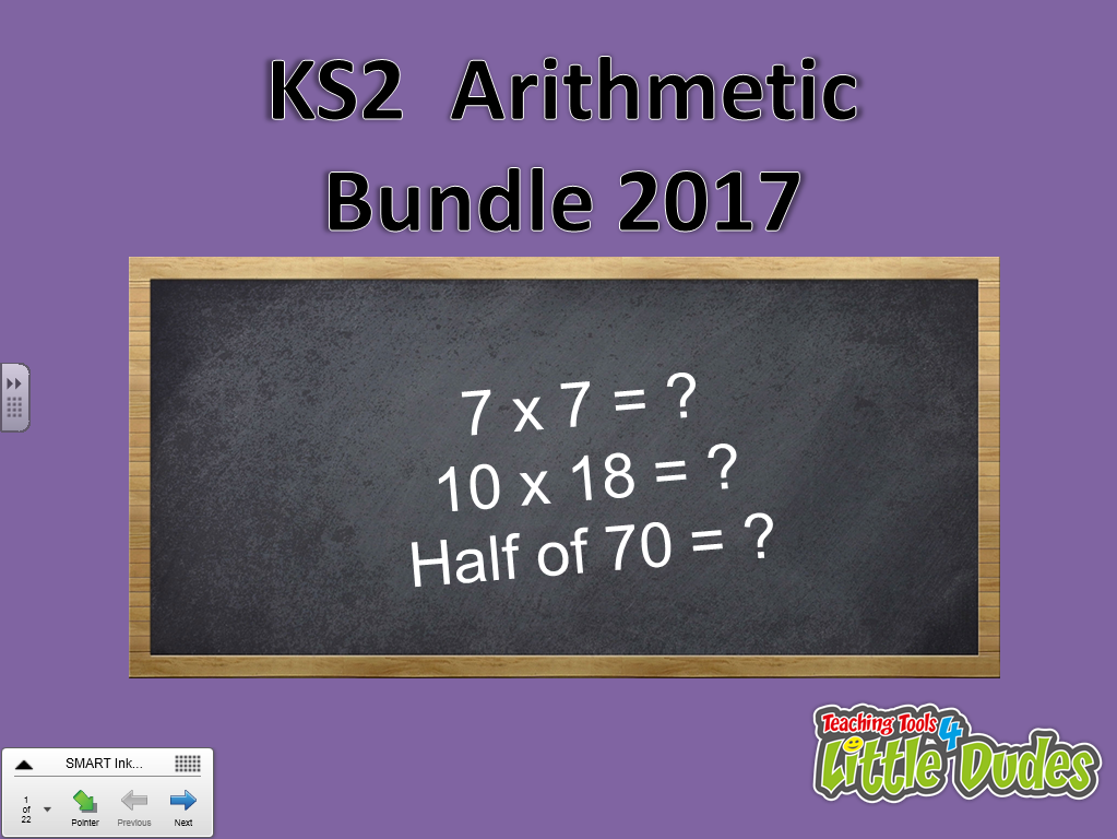 2017 KS2/Key Stage 2 SATS Arithmetic Paper Bundle