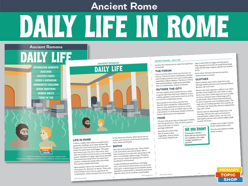 Ancient Romans - Daily Life