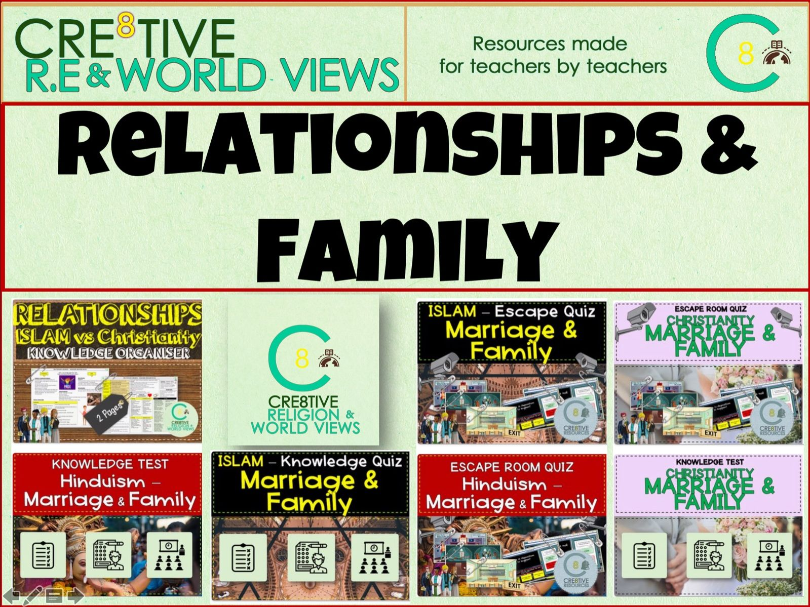 Relationships + Marriage - RE