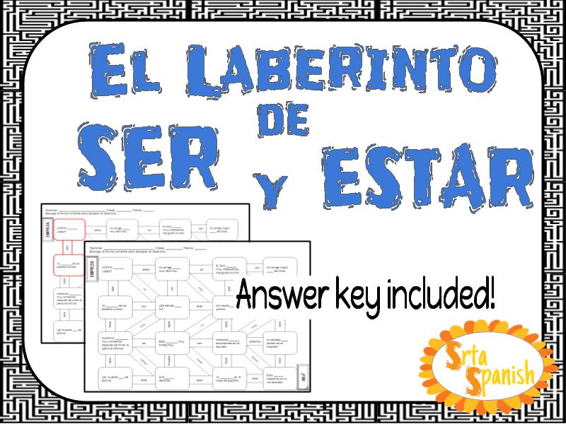 Ser vs. Estar - Spanish Laberinto