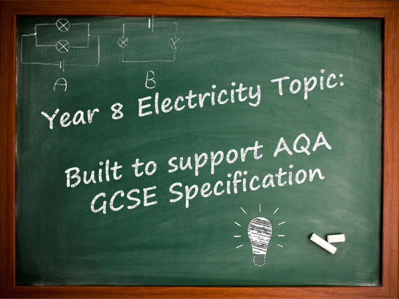 Year 8/KS3 Electricity Scheme of Work - Designed for AQA New Specification