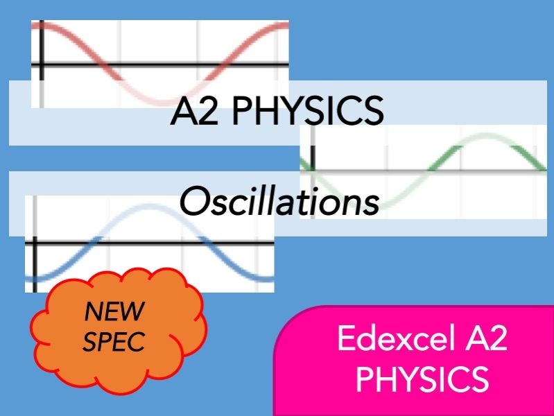 Edexcel A2 Physics(NEW) - Oscillations - Whole Course Content - Revision, Questions, Notes