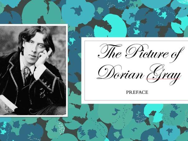 The Picture of Dorian Gray. Lesson 1  - Preface