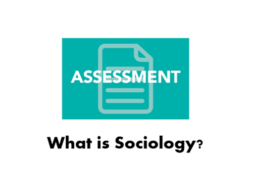 L1.b) What is sociology assessment AS/Year 12