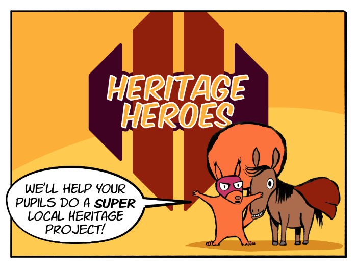Heritage Heroes – class heritage project