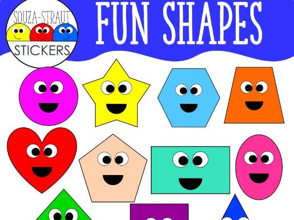 Fun Shapes Clip Arts