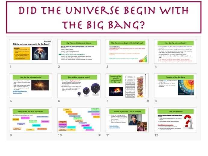 Did the universe begin with the Big Bang?