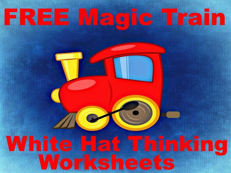 FREE The Magic Train White Hat Reading Questions Makes Fact Finding Really Fun!
