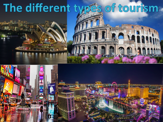 KS3 Tourism - The different types of tourism