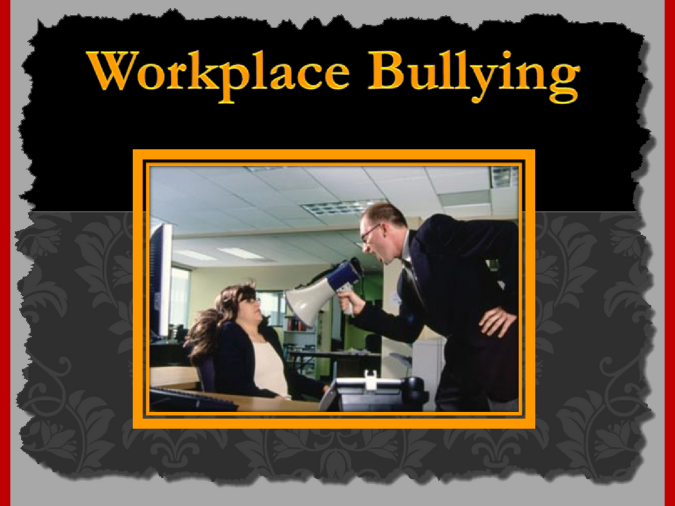 Workplace Bullying Interactive PPT and Worksheets