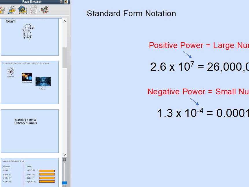Standard Form Notation Full Lesson