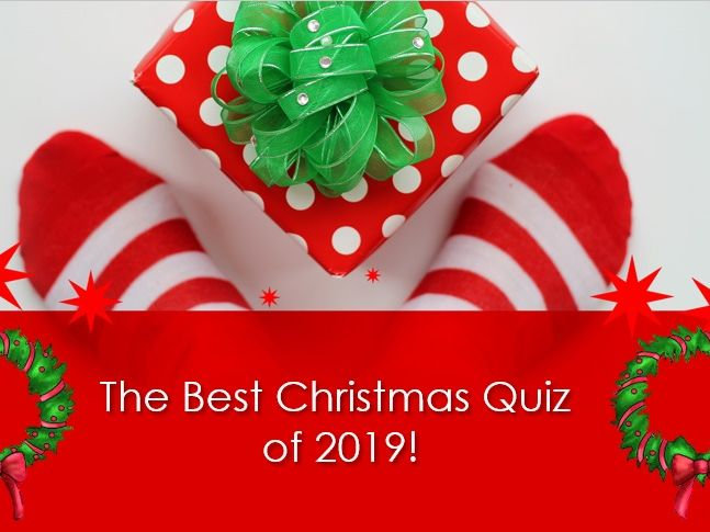 Christmas Quiz 2019!