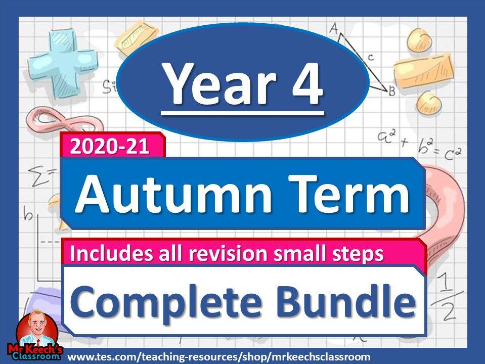 Year 4 - Autumn Term - White Rose Maths