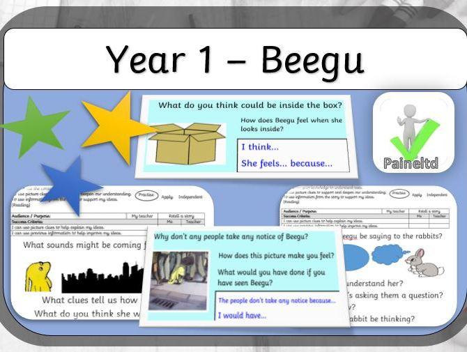 Year 1 - Beegu (Reading and Writing Resource)