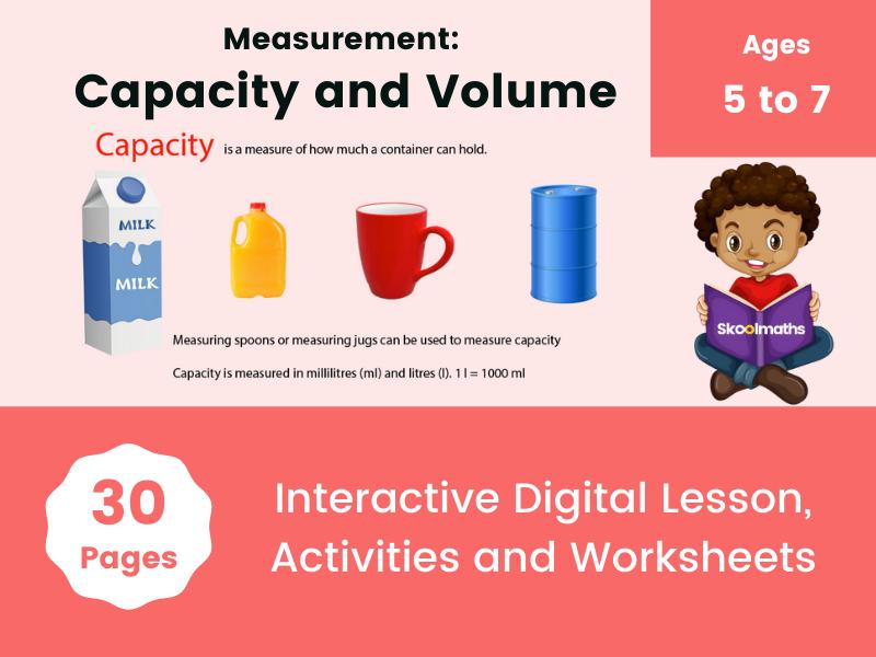 Measurement: Capacity and Volume