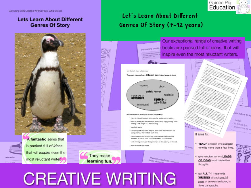 Learn To Write Different Genres Of Story (7-13 years)