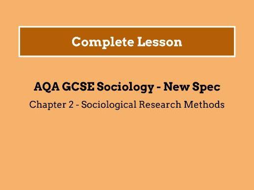 Lesson 12 - Social Surveys