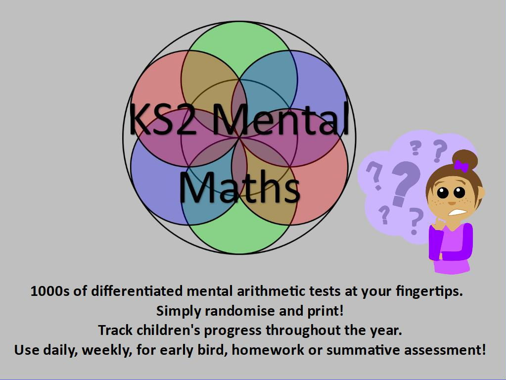 KS2: Mental Arithmetic Tests