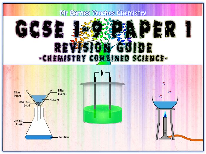 GCSE Combined Science 1-9 - Chemistry Paper 1 Revision Guide