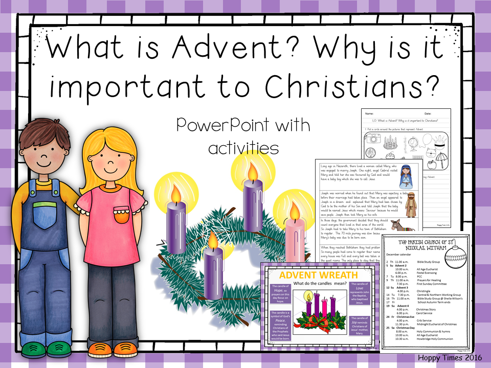 RE ADVENT Lesson PPT/ activities/ worksheet (Christmas) by ...