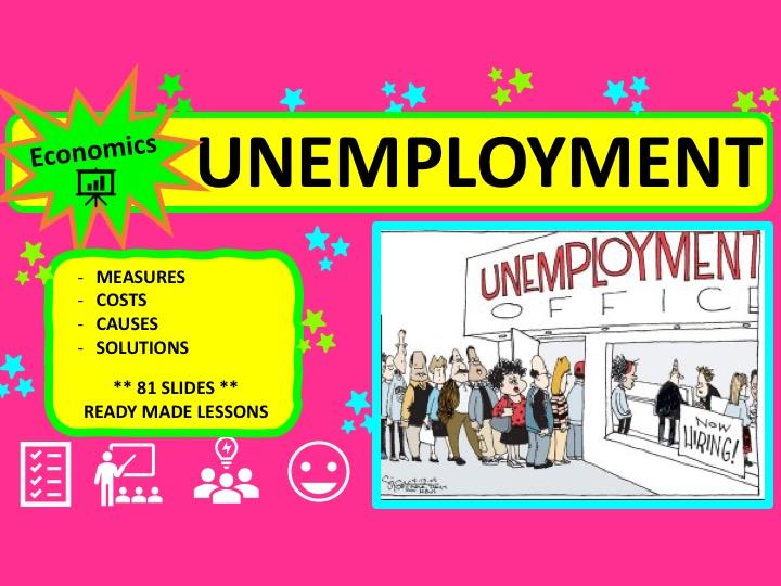 A Level Economics Unemployment
