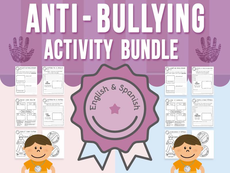Anti-Bullying Activity BUNDLE