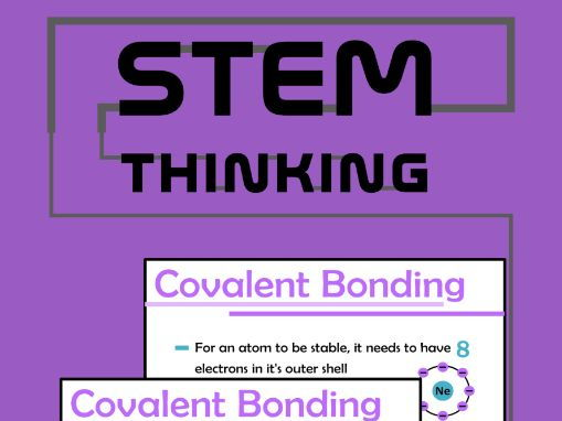 Covalent Bonding Powerpoint Presentation, Chemistry