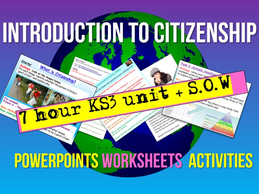 Citizenship Introduction Unit