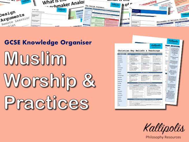 Muslim Practices - GCSE RS Knowledge Organiser