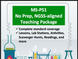 Complete Resource Package for NGSS - MS-PS1 - Matter and its Interactions