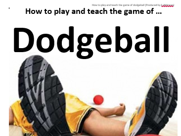 KS3 Dodgeball Resources and Lesson Plans