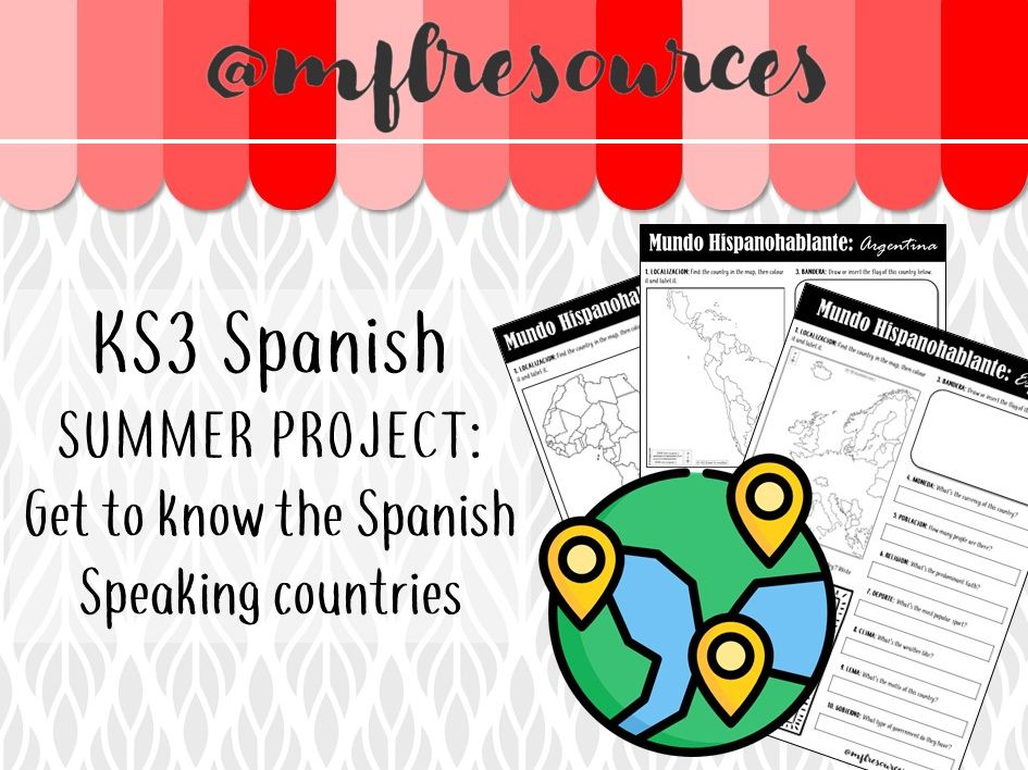 KS3 Spanish - Research project on Spanish-speaking countries