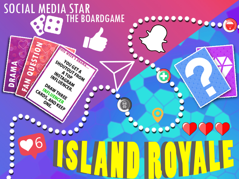 Boardgame Bundle - Island Royale + Social Media Star
