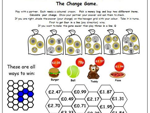 Y4  Y5 Money Differentiated Worksheets & Activities Including Mastery Reasoning. 8 Activities/Sheets