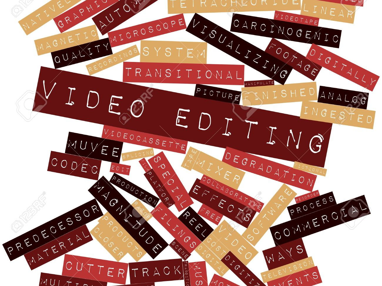 Media Studies - Editing terms (Level 2 and Level 3)