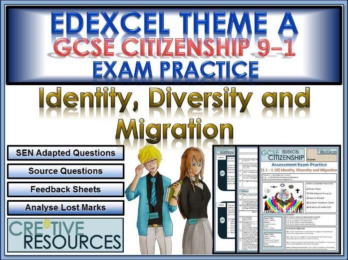 9-1 Citizenship Edexcel GCSE Exam Assessment:  Identity, Diversity and Migration.PDF
