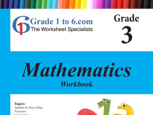 Grade 3 Maths Workbook from www.Grade1to6.com Books by Grade1to6 ...