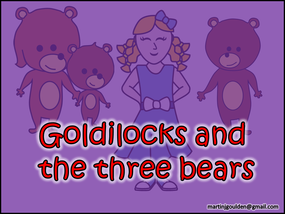Goldilocks and The Three Bears Story - Editable - Traditional Tales