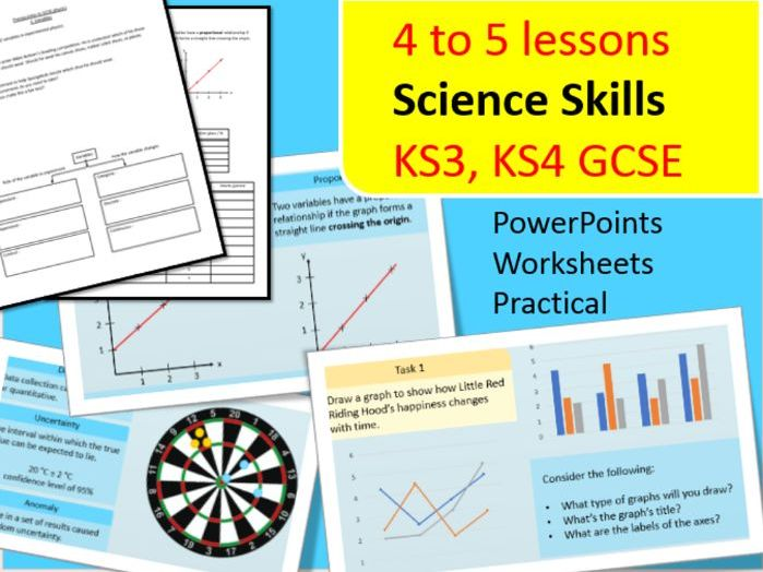 Science Skills | Intro to Science | Intro to Physics | Graphical Skills | Practical Skills