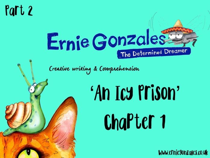 An Icy Prison - Comprehension, Guided Reading and Created writing. Based on chapter 1