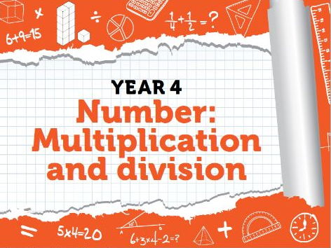 Year 4 - Multiplication and Division - Week 10