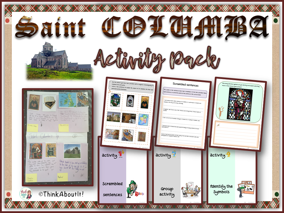 St. Columba - Activity Pack