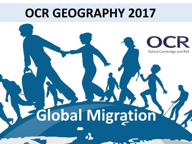 A-Level OCR Geography Migration Revision Guide