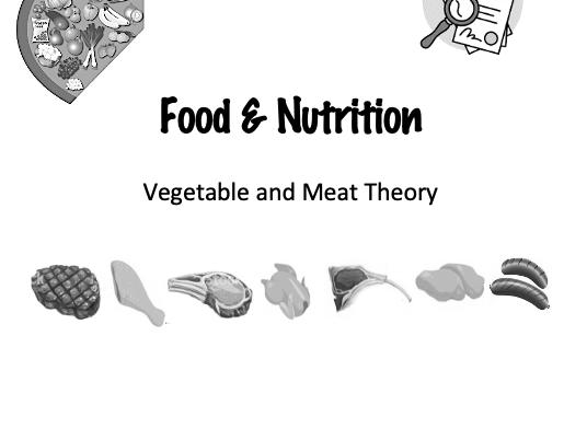 KS3 Food & Nutrition Home Learning Workbook