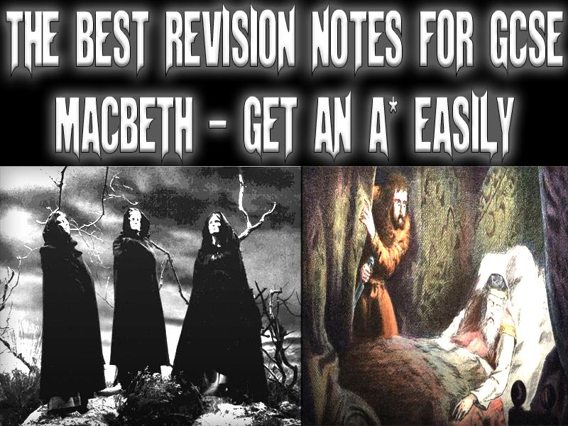 gcse english macbeth essays